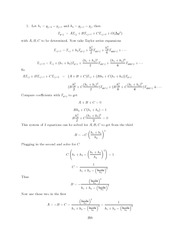 Differential Equations Lecture Work Solutions 299