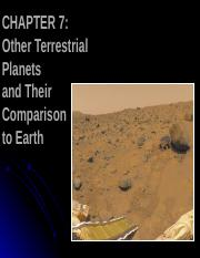 09 terrestrial planets.ppt