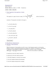 HW 7 WebCT questions