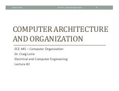 Lecture 2 - Computer Architecture and Organization.pdf