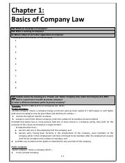 1 Basics of Company Law.pdf