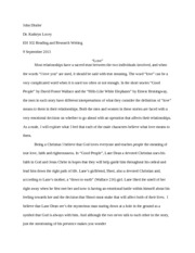 Revised Essay#1