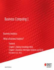 S07 What is Business Analytics(1)