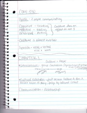 Intercultural Communication Intro Notes