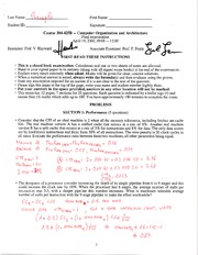 ECSE 425 Sample Final Exam 2 Solutions
