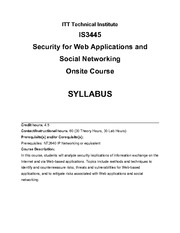 IS3445_22_Syllabus