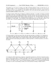 Assignment  6 solution on  Steel Design