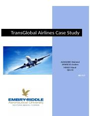 TransGlobal report Final  pdf - TransGlobal Airlines Case