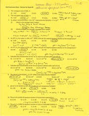 Chemisrty elements study guide