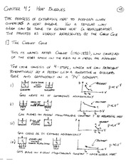 PHYS 310 Heat Engine Notes