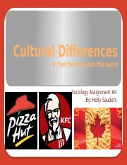 Cultural Differences 4