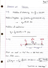 HW 3 - SOLUTION  - mechanics of material.pdf