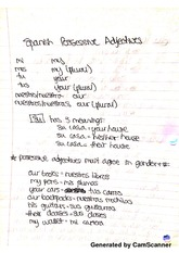 Adjectives Notes