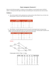 Homework 2problem 1 with answers
