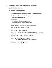 Lecture 3 - Special Random Variables(1).docx