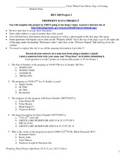 Property Management possible college subjects