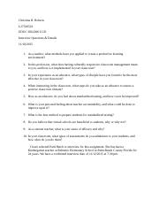Christina Roberts Interview Questions and details.docx