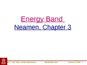 ELCT363_Lecture8_EnergyBand