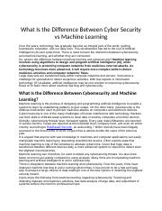 Cyber Security vs Machine Learning doc 1.edited.docx