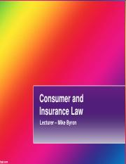 Consumer and Insurance show UFS BB SU 1 to 7