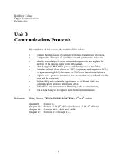 Communications Protocols Notes and Lab v3_3