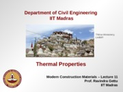 12.Thermal Properties