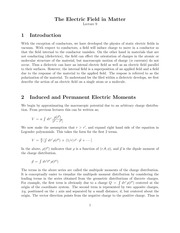 Lecture 9 on Introduction to Classical Electrodynamics