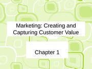 ch 1Creatingandcapturingcustomervalue