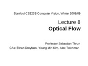 CS223B-L8-OpticalFlow