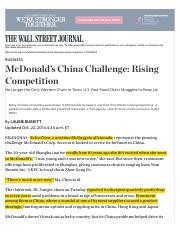 WSJ McDonalds China Challenge.pdf