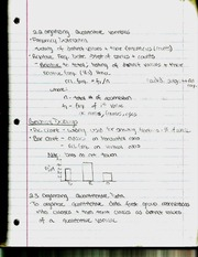 Organizing Quantiative Variables Notes