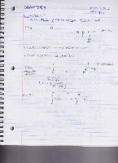Organic Chemistry Notes (Chapter 1)
