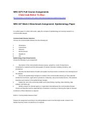 epidemiology presentation nrs 427 grand canyon Nrs 427v full course assignments the rn to bsn program at grand canyon university meets the requirements for clinical nrs 427 week 5 community.