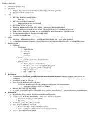 Hepatitis and Liver Notes.docx