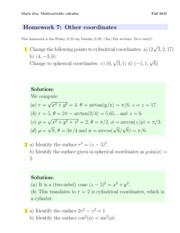 hw7-Other Coordinates SOLUTIONS