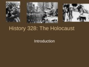 History 328 Introduction Lecture