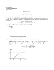 Midterm 2: Solution