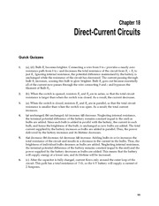 CH18 Direct-Current Circuits