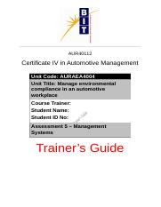 Assessment 5 - Trainer's Guide.docx