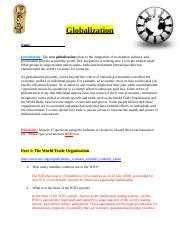 Week 14, Globalization Assignment.docx