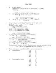 Chapter 7 solutions manual to accompany 5 th edition of physical chapter 7 solutions manual to accompany 5 th edition of physical chemistry publicscrutiny Images