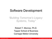 Fundamentals of Software