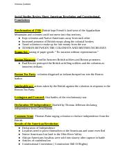 ss reveiw sheet- american revolution and constitutional foundations.docx