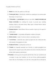 AP Human Geography Vocab Textbook Chapter 8 - Iron Curtain ...
