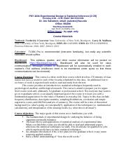 201608 - 13083 - PSY 3234-006-Experimental Design and Statistical Inference - Salvatore, Joseph (1).