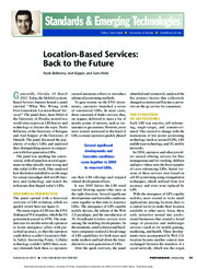 Location-Based Services - Back to the Future