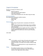 Harrison Chapter 8 Notes