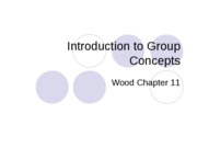 CMN 101 Lecture 1 on Introduction to Groups