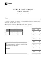 Calculus1-Midterm2-006-A-Solution