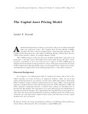 The Capital Asset Pricing Model.pdf